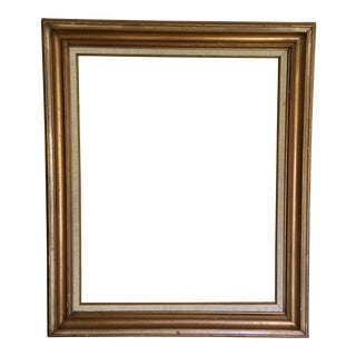 Gold & Linen Picture Frame