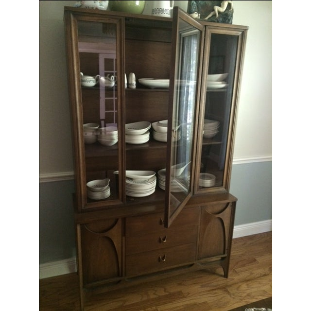 Broyhill Brasilia Mid-Century China Cabinet For Sale - Image 5 of 11