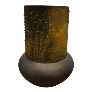 Norman Bacon Raku Vase For Sale
