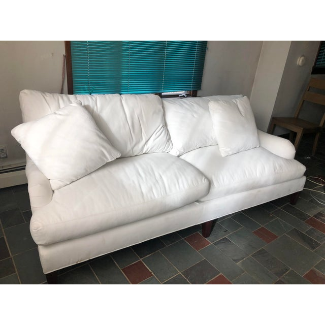 Essex Ruffin Sofa by Crate and Barrel For Sale - Image 12 of 12