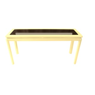 Lane Furniture Mid-Century Lacquered Console Table For Sale