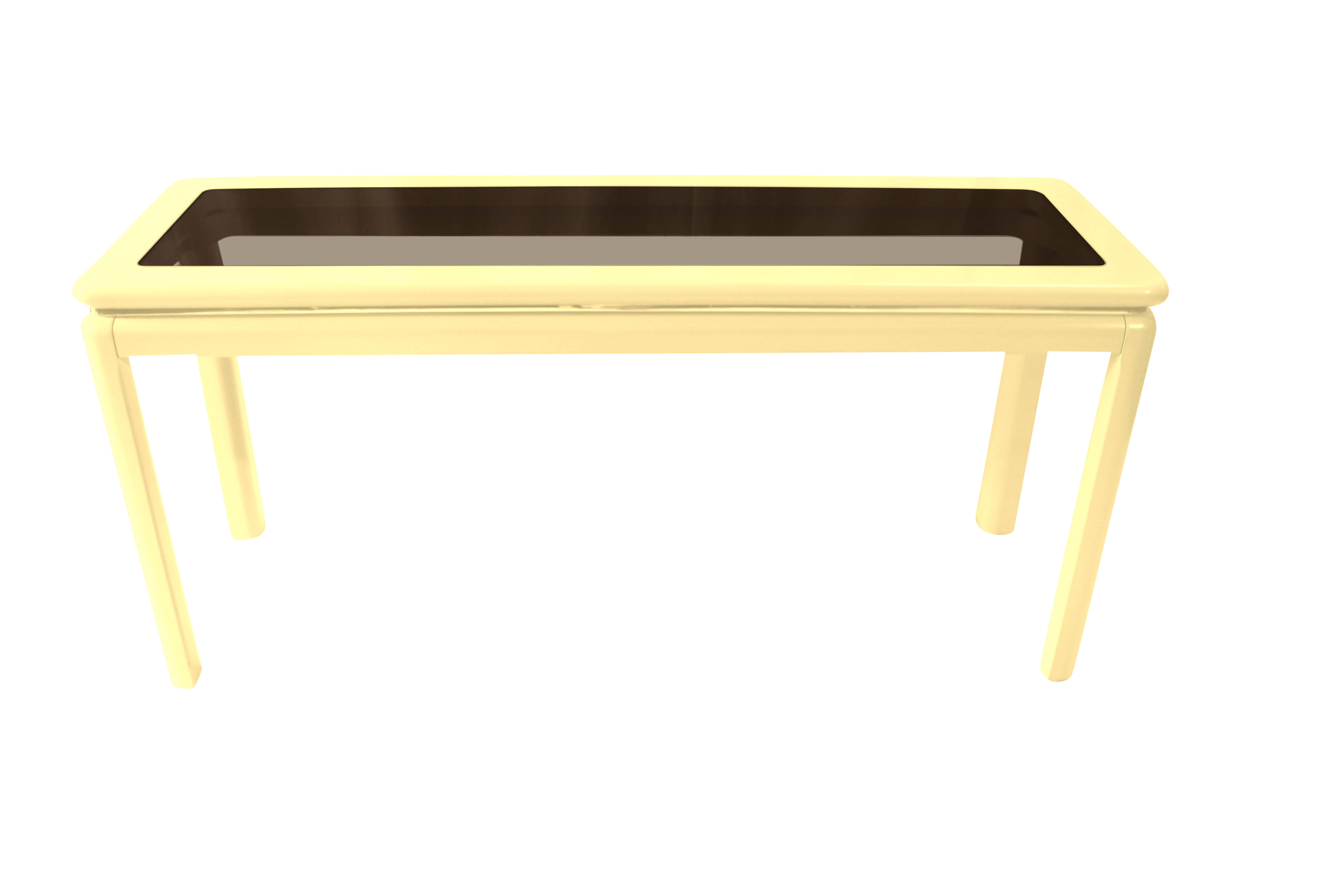 Lane Furniture Mid Century Lacquered Console Table