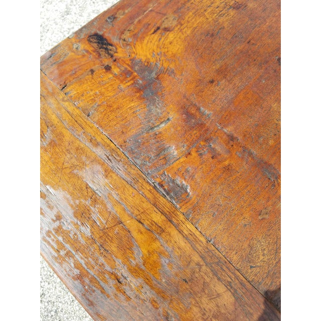 Antique French Farm Table - Image 7 of 8