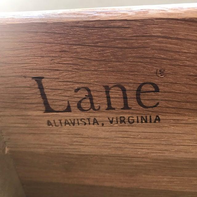 Wood Lane Mid Century 6 Drawer Walnut Dresser For Sale - Image 7 of 7
