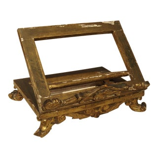 Antique Giltwood Table Lectern, France, Circa 1815
