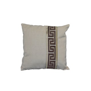 Cushion Labyrinth Oatmeal Pillow For Sale