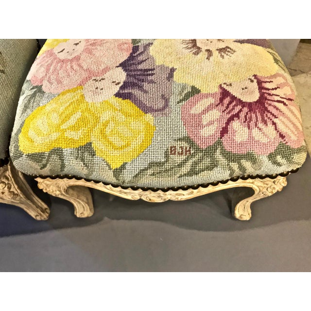 Boho Chic 18th Century French Footstools - a Pair For Sale - Image 3 of 10