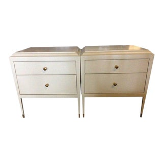 Alexa Hampton for Hickory Chair Co. Nightstands - A Pair For Sale