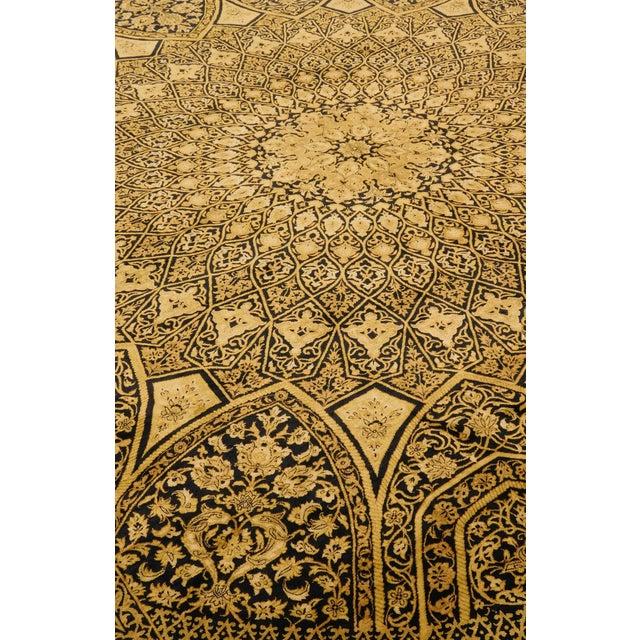 "Persian Rug Los Angeles: Persian Silk Ghom Rug - 6'6""x 8'"