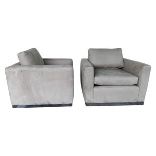 Cube Club Chairs For Sale