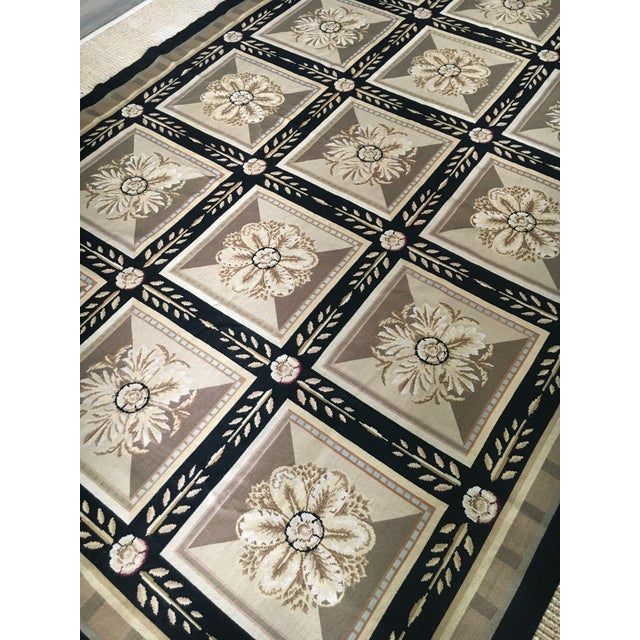 1990s Stark Aubusson Rug- 6′ × 9′3″ For Sale - Image 5 of 13