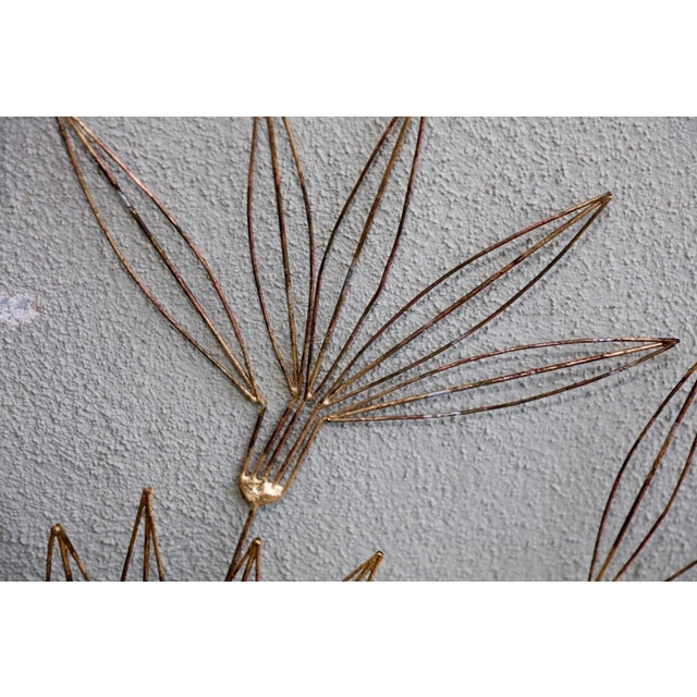 Curtis Jere Curtis Jere Signed 1980 Star Blossom Wall Sculpture For Sale - Image 4 of 12