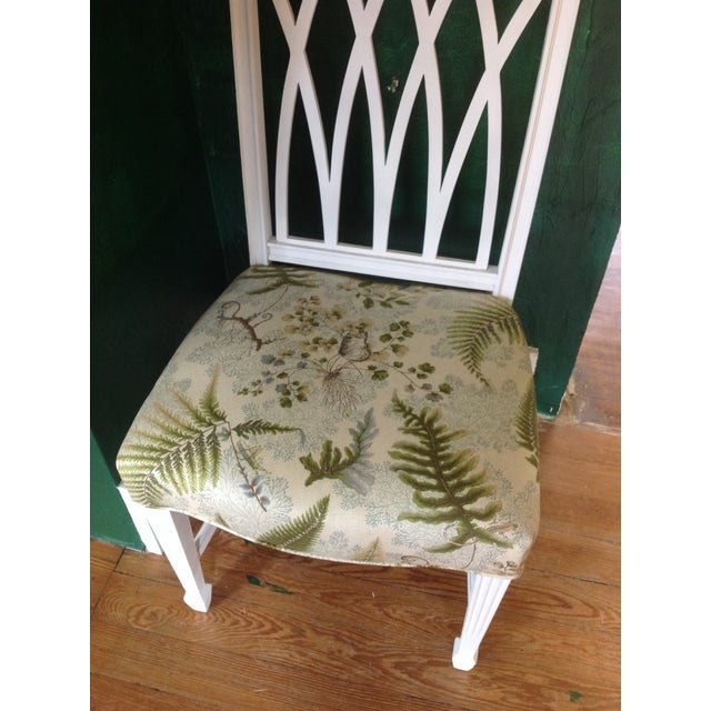 Vintage Painted Side Chair - Image 3 of 5