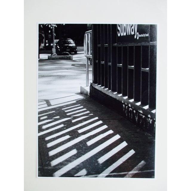 Folding Easel & Original NYC Subway Photograph - Image 4 of 11