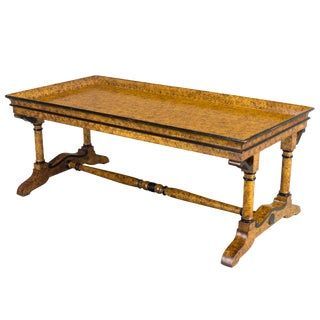 French Charles X Style Coffee Table For Sale