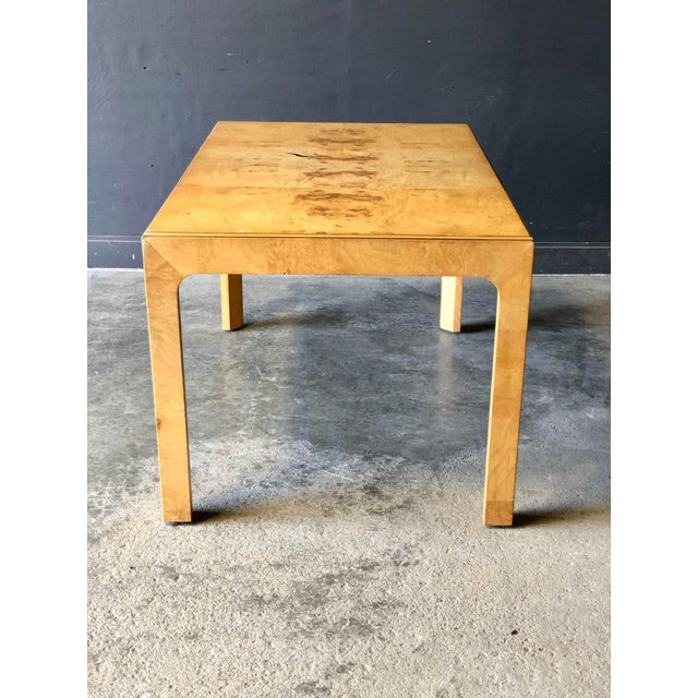 Milo Baughman Parsons Dining Table For Sale - Image 9 of 9