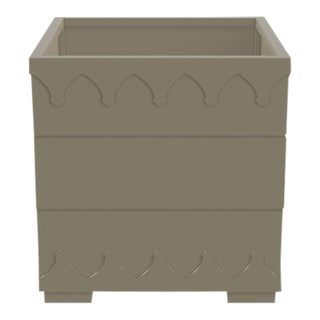 Ocean Drive Outdoor Planter Small, Taupe For Sale