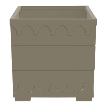 Oomph Ocean Drive Outdoor Planter Small, Taupe For Sale