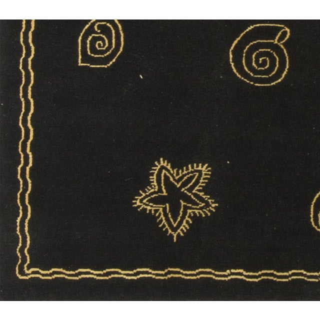 Contemporary Hand Knotted Wool Rug - 8′ × 10′ - Image 4 of 4