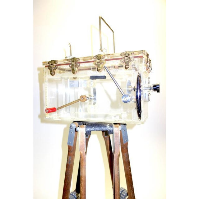 1950s Disney Underwater Movie Camera Housing. Fabricated By 'Original Star Trek' Prop Maker Circa 1950. For Sale - Image 5 of 5