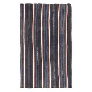 Vintage Modern Kilim Rug-7′7″ × 12′1″ For Sale