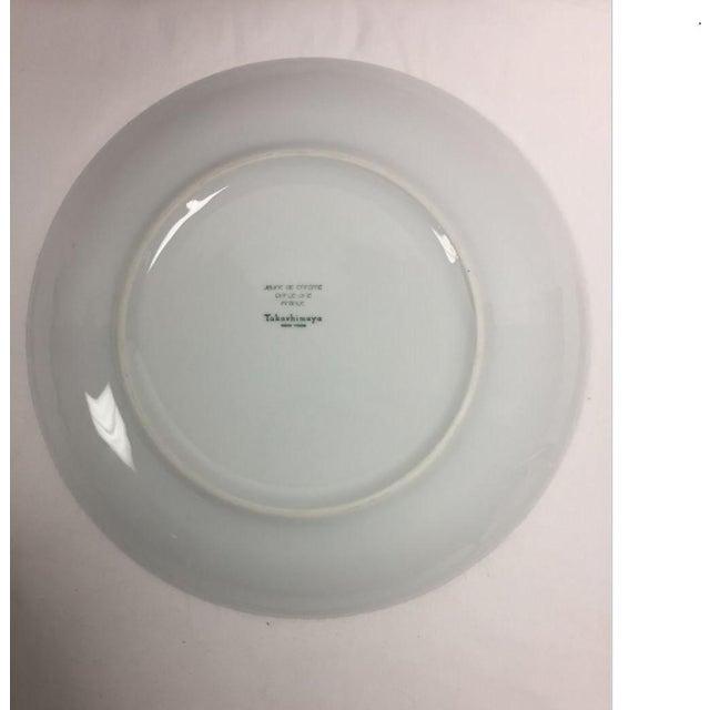 Contemporary Jaune De Chrome Dinner Plates - Set of 8 For Sale - Image 11 of 13
