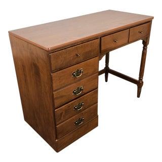 Ethan Allen Baumritter Custom Room Plan Crp Neirloom Nutmeg Maple Desk For Sale