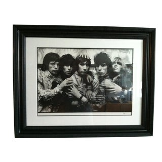 """Mid/ Late 20th Century Vintage Rolling Stones """"Eleven Hands"""" Original Print 6/50 by Michael Cooper For Sale"""