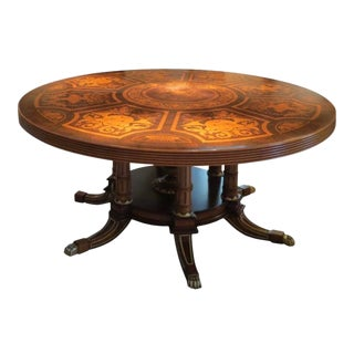 Francesco Molon Marsala Round Dining Table For Sale