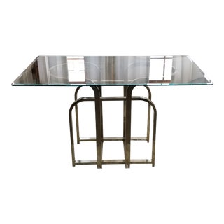 Milo Baughman Ribbon Console Table
