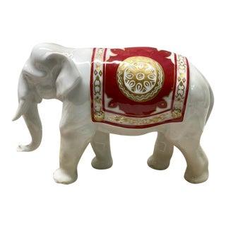 Japanese Okura Ceramic Elephant For Sale