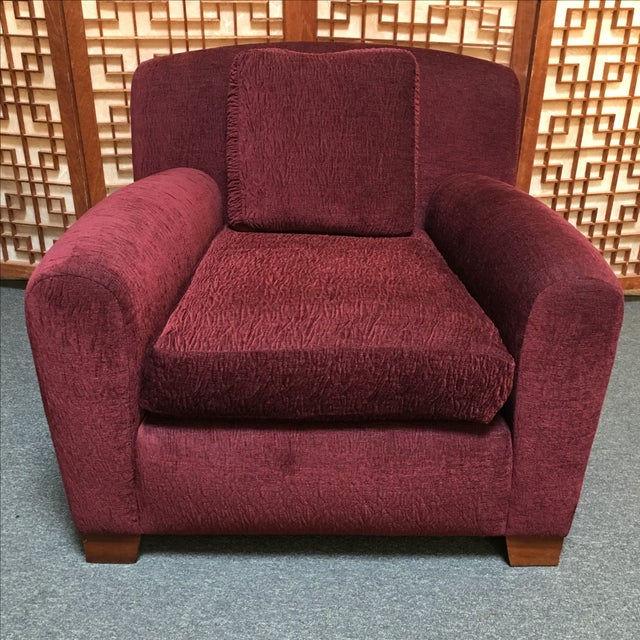 Pair of Custom Donghia Upholstered Armchair - Image 3 of 7