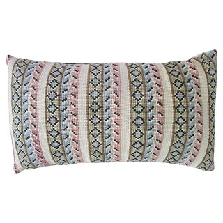 Swedish Vintage Embroidered Pillow