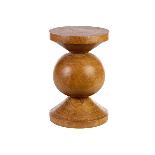 Contemporary Curated Kravet Richard Stool For Sale - Image 3 of 3