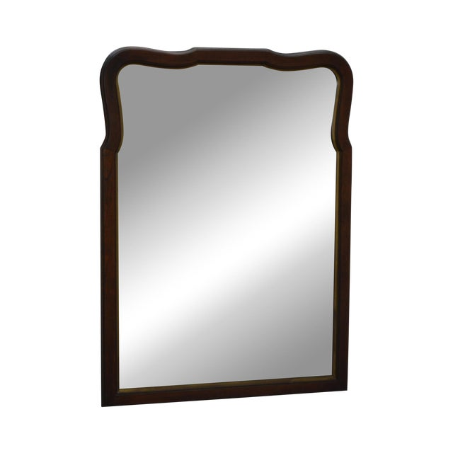 Statton Old Towne Cherry Traditional Wall Mirror For Sale