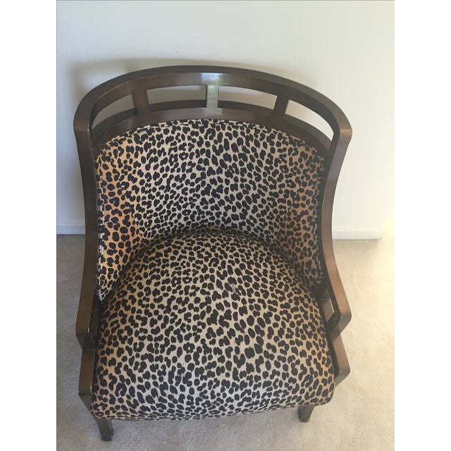 Leopard Print Chair - Image 3 of 7