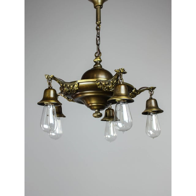 Colonial Revival Light Fixture (5-Light) - Image 6 of 10