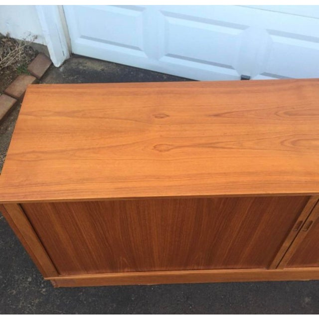 Mid 20th Century Mid-Century Modern Teak Credenza or Tv Console For Sale - Image 5 of 11