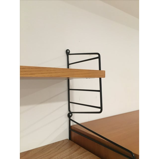 String Shelves and Cabinet by Nisse Strinning For Sale - Image 10 of 11
