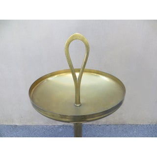 French Baguès Style Brass and Marble 1960 Ashtray Stand Preview