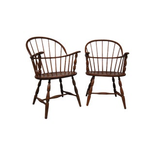 Vintage Windsor Chairs - A Pair For Sale