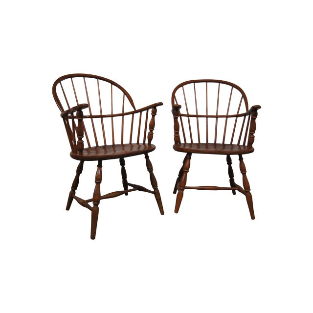 Vintage Windsor Chairs - A Pair - Image 1 of 3