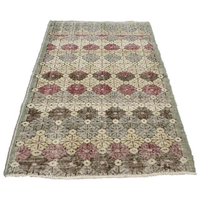 Attributed to the Turkish megastar, Zeki Müren. Zeki Müren's collection of rugs highlight bold patterns and bright colors...