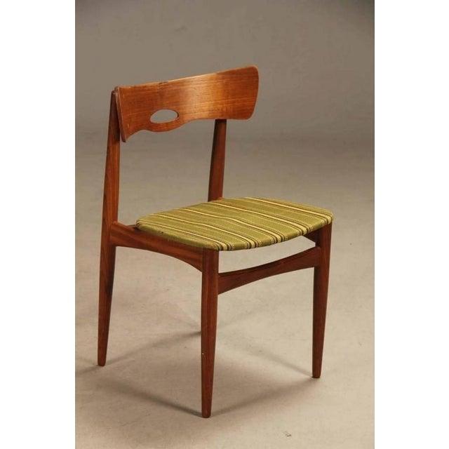 Danish Modern Danish Vintage Teak Chairs by Bramin, 1960s - Set of 6 For Sale - Image 3 of 5