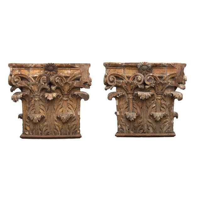 Antique Chapiteaux - a Pair For Sale - Image 12 of 12
