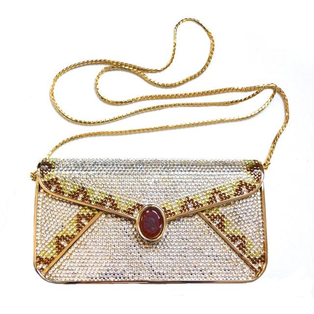 1970s Judith Leiber Crystal Bag For Sale - Image 5 of 7