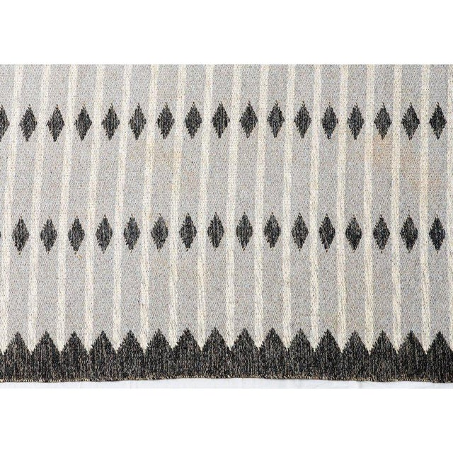 Vintage Swedish Flat-Weave Carpet - Image 4 of 7