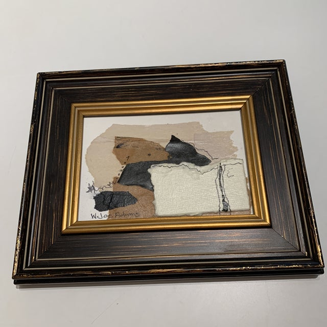 Joe Adams Framed Collage Art For Sale - Image 12 of 13