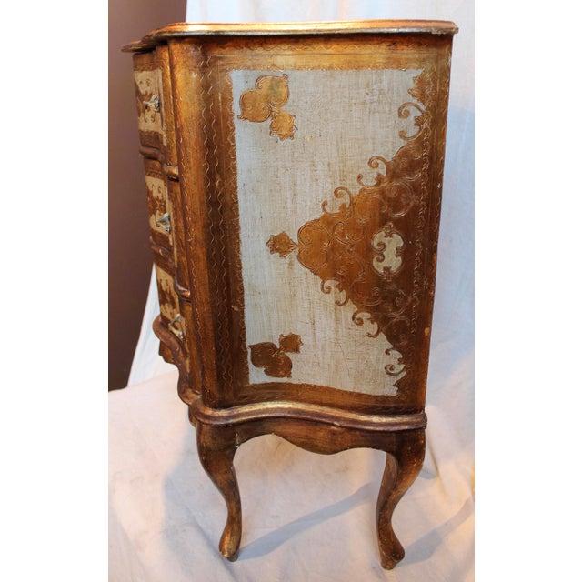 Vintage Italian Gilt Wood Dresser - Image 9 of 11