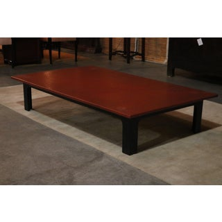 1940s Japanese Red Lacquer Coffee Table Preview